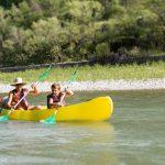 drôme eau baignade piscine camping saillans chapelains canoe kayak nature famille enfants