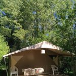 Lodge nature Canada 2 chambres | Camping Chapelains Drome