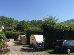 camping drome slow tourisme saillans calme nature riviere peupliers