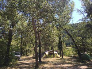 camping drome slow tourisme saillans calme nature riviere ramiere
