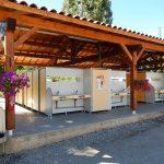 Sanitaires communs propreté hygiène nettoyage régulier | Camping Chapelains Drome