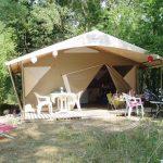 camping chapelains saillans drome tente lodge glamping slow tourisme