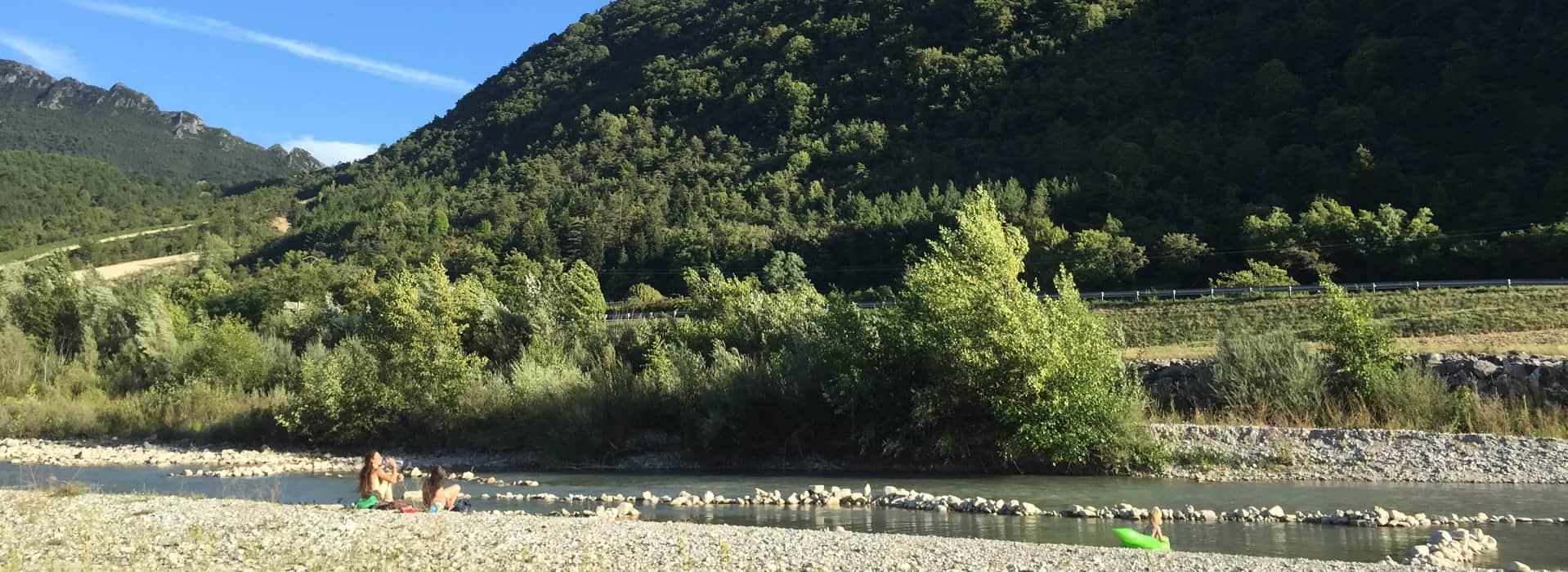 drome camping saillans baignade piscine naturelle nature