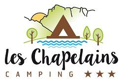 logo camping les chapelains saillans drome