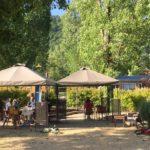 terrasse snack restaurant bar camping chapelains saillans
