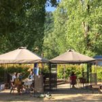 snack restaurant camping chapelains saillans glamping drome rivier
