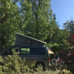 camping chapelains saillans drome camping-car fourgon aménagé campervan motorhome camper WoMo Wohnmobil river rivier fluss