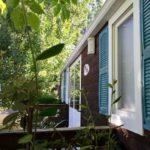camping chapelains saillans drome cottage mobil home mobilhome slow tourisme climatisé river rivière air conditionné climatisation