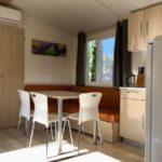 camping chapelains saillans drome cottage mobil home mobilhome slow tourisme airco climatisé rivière river