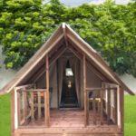 mini lodge tente cyclo camping chapelains randonnée hiking tent