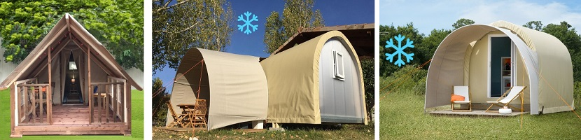 coco sweet climatisée mini tente lodge