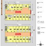 20190209 Plan bloc sanitaires numéroté